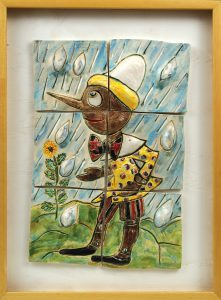 Pinocchio in the Rain