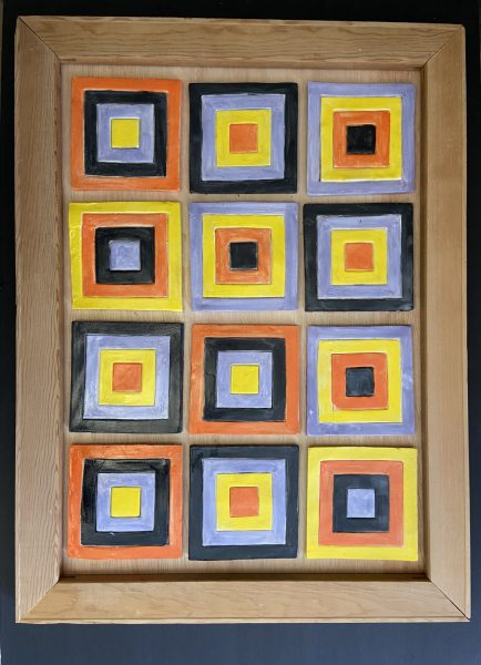Homage to the Square Revisited Quilt