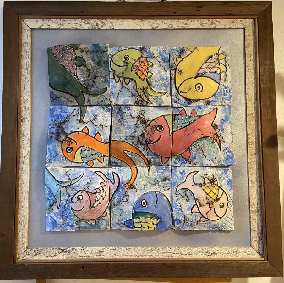 Raku Fish Quilt