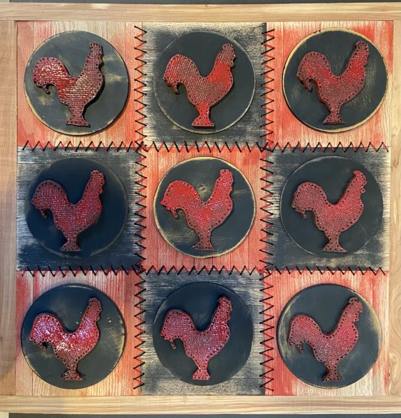 Red Rooster Quilt