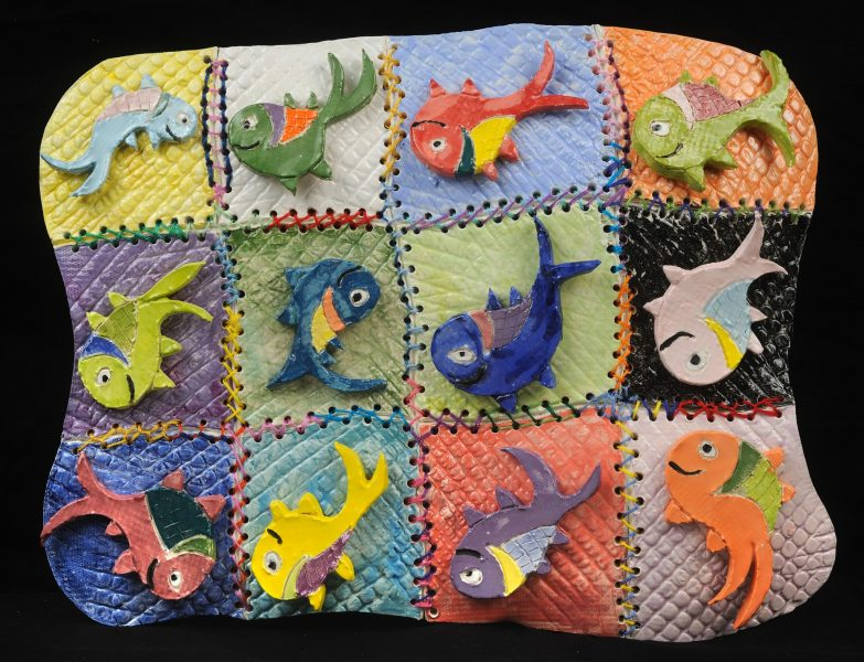 Fishy Patchwork Quilt