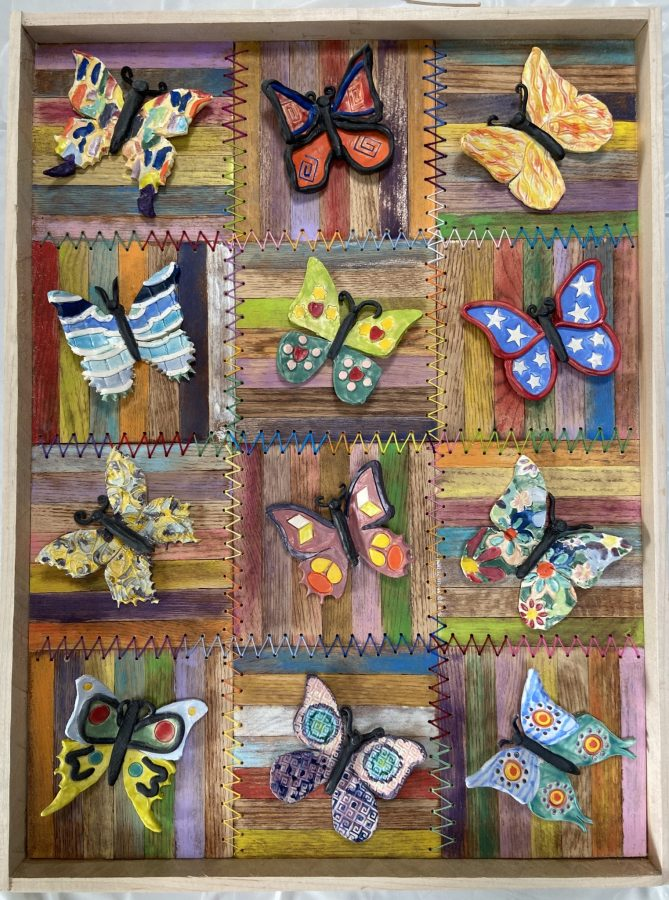 Butterfly Quilt, National Institutes of Health Art Collection