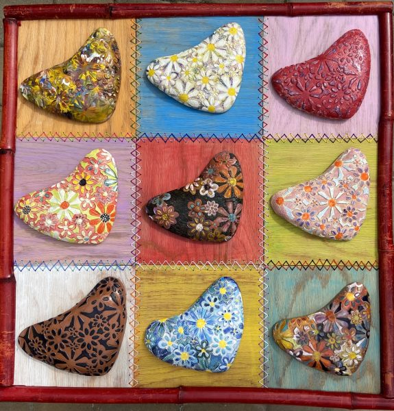Hearts and Flowers Quilt