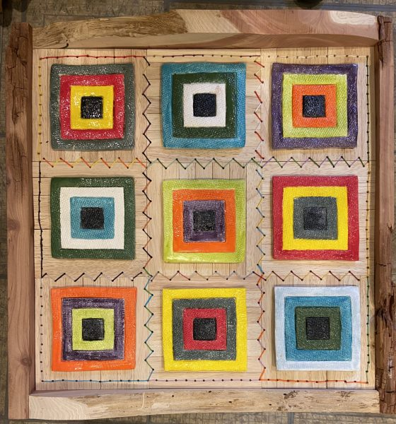 Homage to the Square Quilt