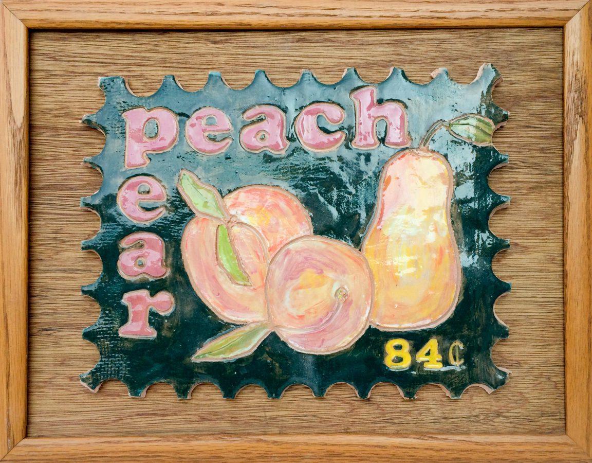 Peach and Pear