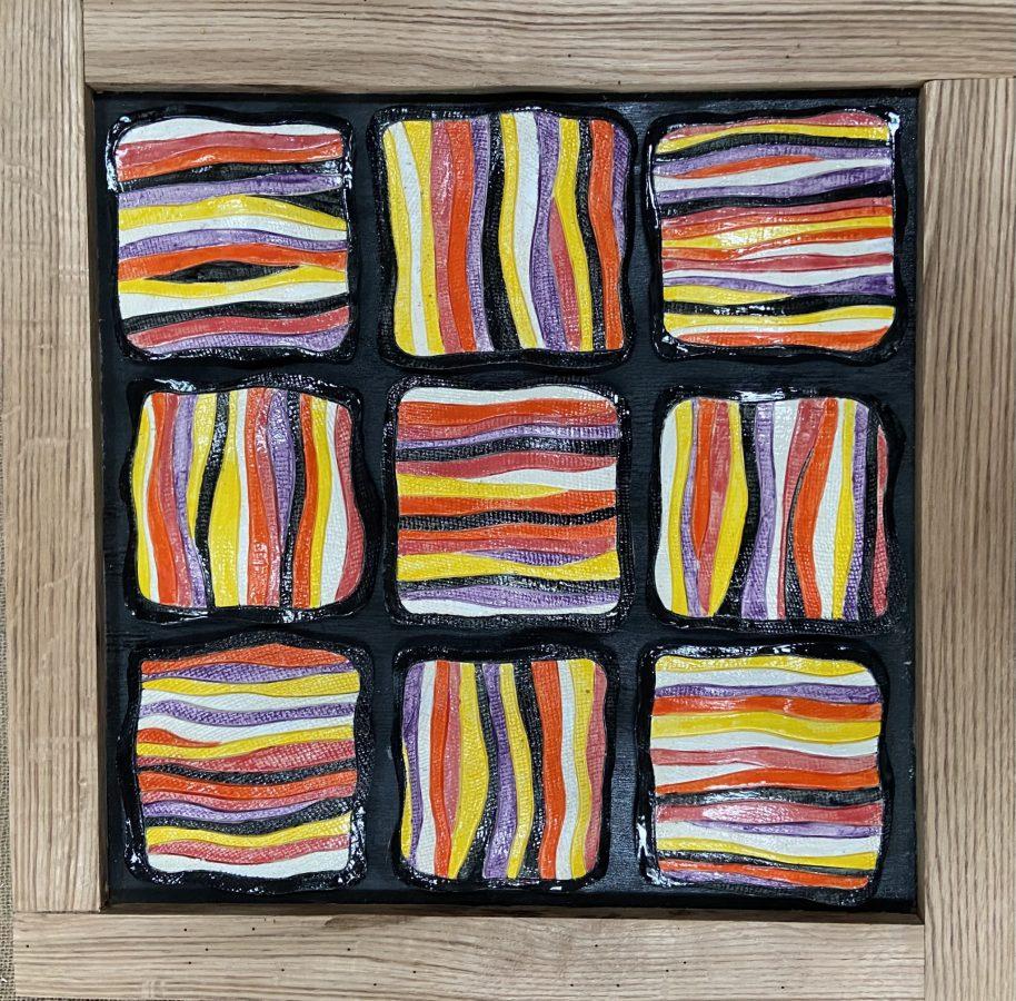 Stripes Patchwork Quilt