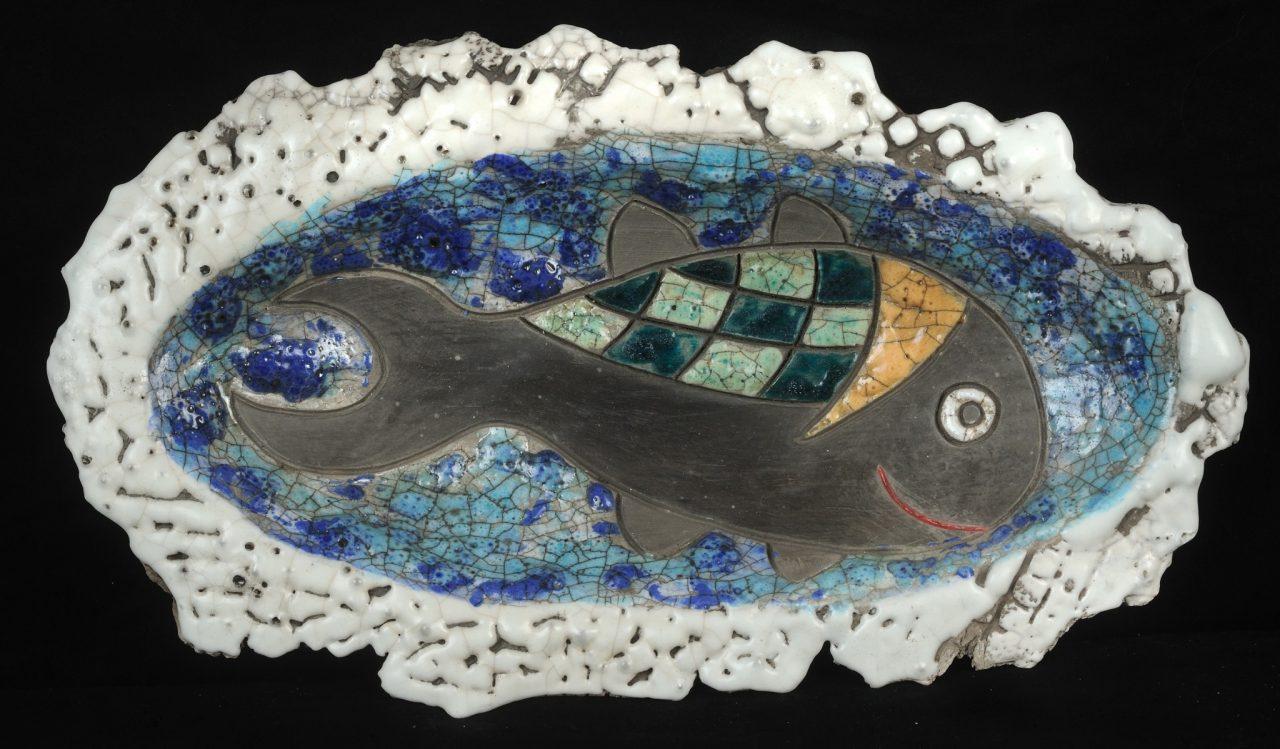 Raku Fish Bowl