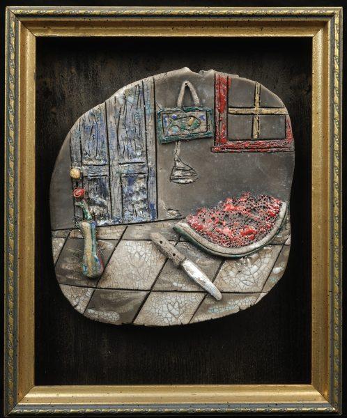 Raku Room with Watermelon