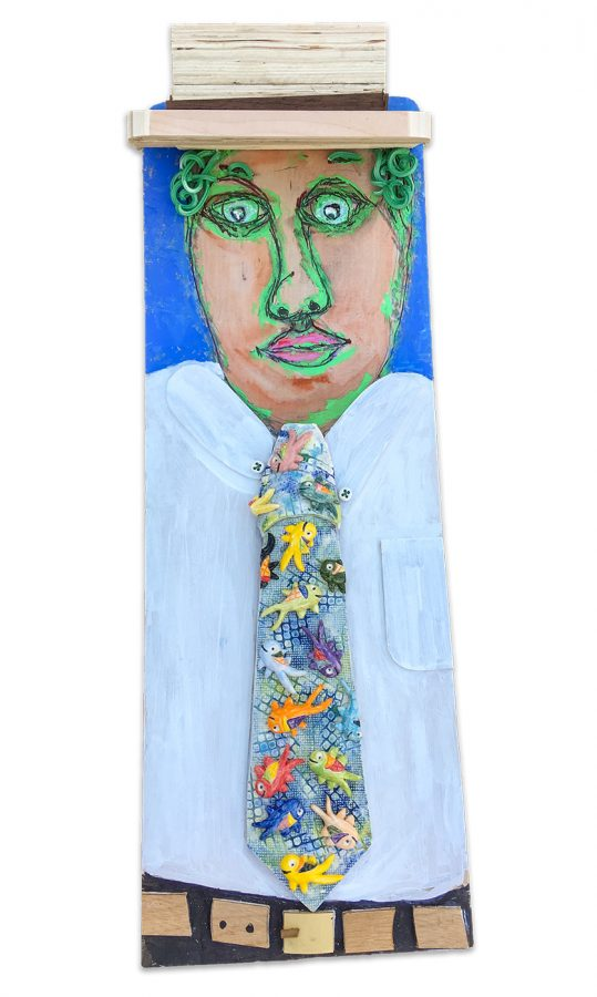 The Man in the Fish Tie