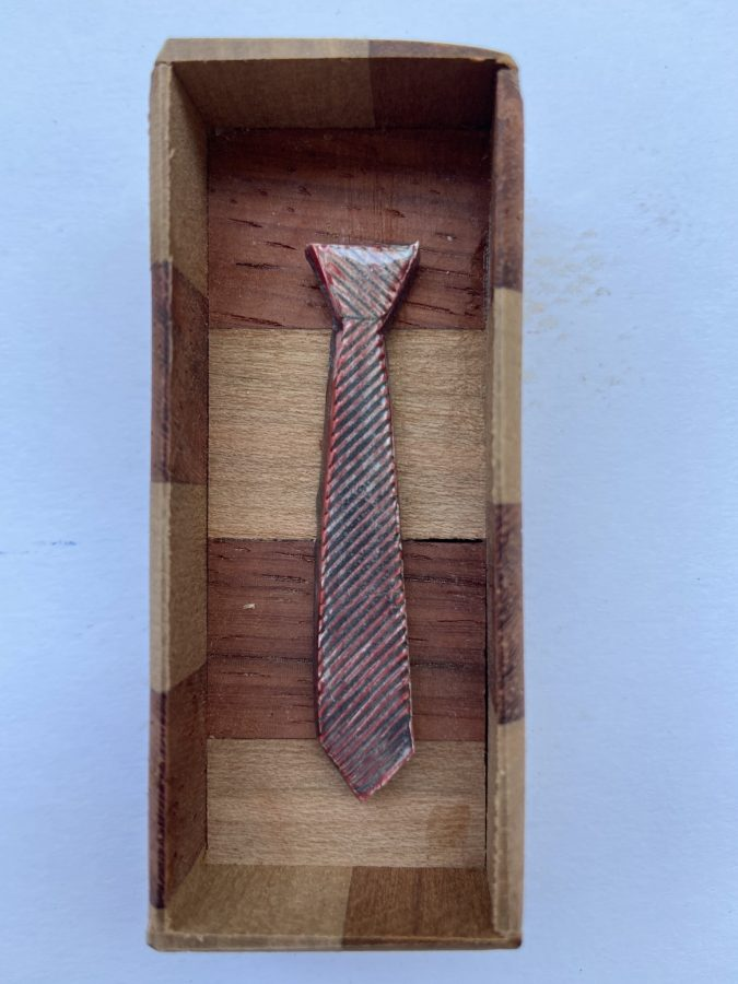 Tiny Ties in Wooden Boxes 4