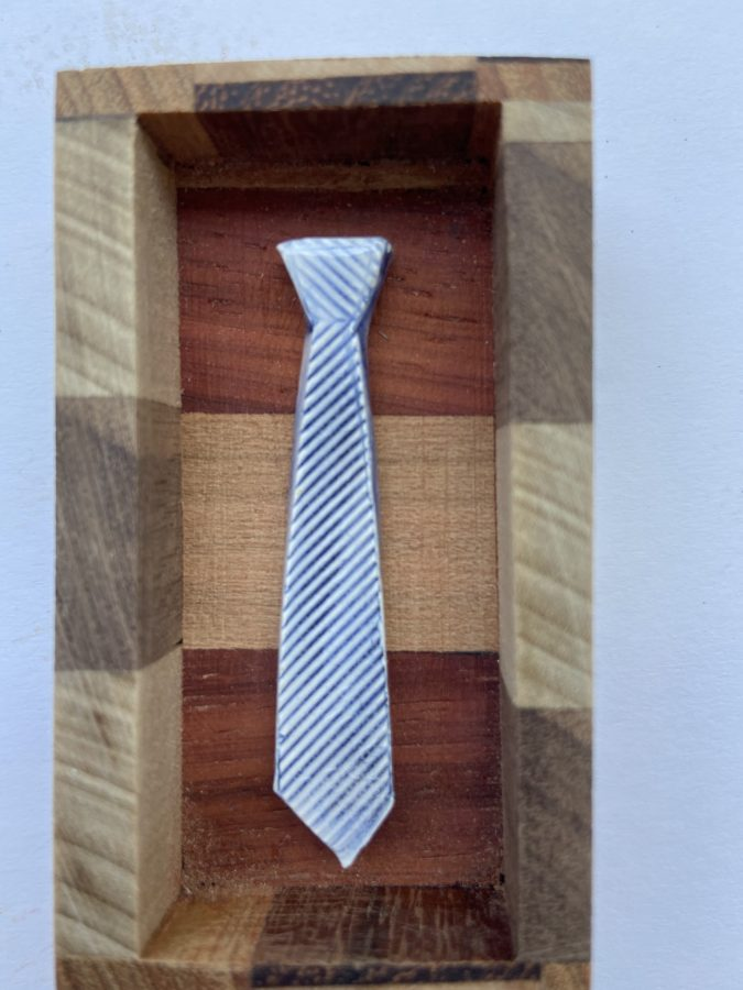 Tiny Ties in Wooden Boxes 6
