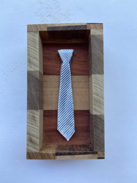 Tiny Ties in Wooden Boxes 9